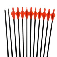 Wholesale Archery hunter Nocks Fletched Fiberglass Arrows Target Practice Arrow for Archery Shooting Target hunting