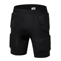 Wholesale Sports Outdoors Athletic Outdoor Accs Sports Safety Elbow Knee Pads Black polyurethane Anti collision trousers
