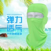 Wholesale New Popular forest golf equipment soft sun mask fishing cycling air dust caps mask