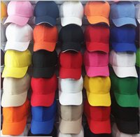 baseball caps manufacturers - Manufacturers Discounted cap solid color men and women sun hat baseball cap visor cap hip hop