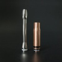 base medical - 2016 Chinaye product stainless steel drip tip stable copper base medical mouthpiece for atomizer for
