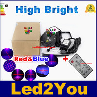 Wholesale Special Red Blue in1 in1 in1 Outdoor Christmas Laser Lights Laser Stage Lighting Projector Pattern Laser Light Show Projector IP65