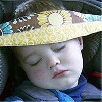 Wholesale Infant Sleep Nap Safety Belt Children Adjustable Head Holder Belt Car Seat Fixing Band Strap Kids Baby Carriage Bed Protective Belt new hot
