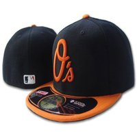baltimore blue - Baltimore Orioles Classic Fitted Hat Hip Hop Embroidered Full Closed Baseball Cap