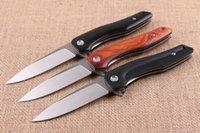 alien ball - piston alien folding flipper knife ball bearing folding camping survival knife outdoor xmas gift knife for man