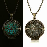 antique gold locket - Antique Silver Antique Bronze Aromatherapy Locket Essential Oil Diffuser Locket Necklace Perfume Locket Necklace
