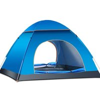Wholesale Automatic quick opening waterproof tents Travel outdoor camping tent people