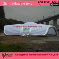 Wholesale meters dameter Giant inflatable tent for wedding inflatable event tent party tent with blower and