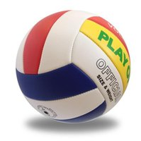 Wholesale 2016 official size PU Volleyball Volleyball match high quality indoor and outdoor training with a ball outdoors