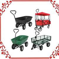Wholesale Wagon Wheelbarrow Moving Luggage Heavy Duty Garden Dump Cart Hand Truck Dolly