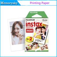 Wholesale Fuji Fujifilm Instax Mini film cameras for Instant Camera s s Polaroid sheets sheets White Edge Photo Papers