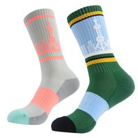 Wholesale New Nylon Cycling Socks Men Outdoor Mount Sports Wearproof Bike Footwear For Road Bike Socks Running Sock
