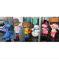 Wholesale Small toy doctor Doc McStuffins with little girl plastic dolls toys furnishing articles