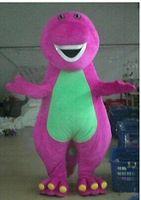 barney the dinosaur costume - Barney the Dinosaur Adult Size Halloween Cartoon Mascot Costume Fancy Dress VHNF7I