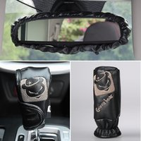 auto mirror parts - Handbrake sets mirror sets gear sets Car Interior Decorations Accessories Three piece together Auto parts ready for winter cold day Decorate