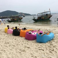 Wholesale Factory Inflatable Lounger Air Sleeping Bag hangout inflatable sofa air bed inflatable travel sleeping bag