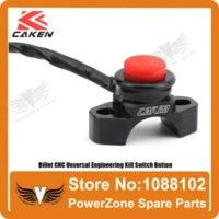 atv billet - Billet CNC Unversal Ride Engineering Billet Black Kill Switch Button Fit Motorcycle Dirt Pit BIke ATV Quad