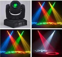 Wholesale 4 W W spots Light DMX Stage Spot Moving colors Channels Mini LED Moving Head follow lighting for DJ Effect lights Dance Disco