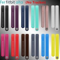 Wholesale Large Small Size Replacement Wristband Band Strap for Fitbit Alta No Tracker PK GT08 DZ09 U8 Smart Watch