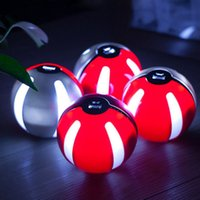 Wholesale New design ball shape elves Power Bank USB LED External Battery Charger portable charger With LED light mAh