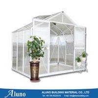 aluminium greenhouse - ALUNO W2496XL1270XH2270 Aluminium Polycarbonated Greenhouse