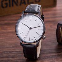 alloy steel grades - Luxury Brand Weesky Men Quartz Watch High Grade Leather Men s Casual Wristwatch Simple Business Watch Relogio Masculino Clock