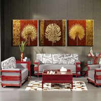 Wholesale Hand Painted Modern panel oil painting on canvas home wall decoration picture painting liviing room decoration tree painting