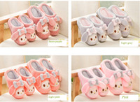 Wholesale Autumn Winter Children Shoes Indoor Slipper High Quality Kids Girls Boys Warm Cartoon Soft Home Household Floor Plush Shoes