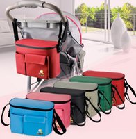 Wholesale Useful diaper bags insulated funtion keep milk in cool or warm condition hang in stroller car