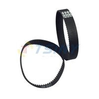 belt pitch length - 3D Printer Parts GT2 Timing Belt Length mm Teeth Width mm Pitch mm in Closed Loop Pack of