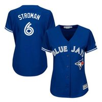 Wholesale Womens Toronto Blue Jays Marcus Stroman Baseball Jerseys Cool Fashion Home Road Alternate Sewn Jersey