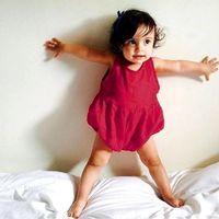 Wholesale 2016 Newborn Baby Girls Boys Monster Organic Romper Bodysuit Outfits M M M M