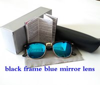 Wholesale colorful Mirror lens Sunglasses Brand Summer Sunglasses for Men Women UV400 Designer Authentic Sunglasses Original Box cases