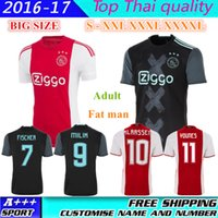 ajax fc - 2016 Ajax Jerseys YOUNES Ajax FC Jerseys KLAASSEN FISCHEA BAZOER MILIK DIJKS Jerseys Football Shirts