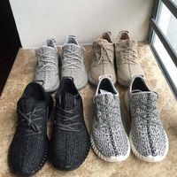 Wholesale Come With Box Boost Version Sneakers Running Shoe Men Women Pirate Black Moonrock Gray Oxford Tan sneaker