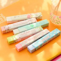 Wholesale Cube Pencial Kawaii Eraser Cute School Supplies Stationery Erasers Correction Products
