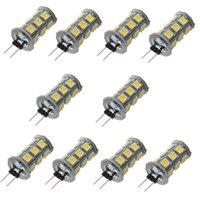 Wholesale G4 LED SMD5050 LM Warm White White Decorative DC12V LED Bi pin Lights JTFL147