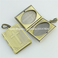 bible cross pictures - Bible Cross Picture Photo Locket Cage Fragrance Perfume Aromatherapy Diffuser