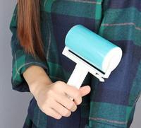Super Sticky моющийся пыли Lint Roller с крышкой для Fluff Pet волос Пыль Remover Lint наклеивания пыление Roller