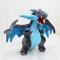 Unisex baby center toys - New Poke Center XY Pikachu Dragon Plush Toy Doll Mega Charizard cm Christmas Gifts Baby Toy