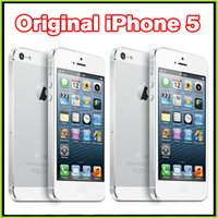 Wholesale Original Unlocked Refurbished Apple iPhone iPhone5 Smart phone IOS GB WIFI G GPS Also have iPhone S Plus Samsung S6