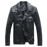 Where to Buy Cheap Motorcycle Leather Jackets Men Online? Buy Moto ...