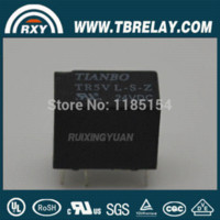 Wholesale TR5V V S Z PCB Type TIANBO Telecommunication Relay safety Relay Relays