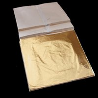 Wholesale 100 sheets X cm Imitation gold leaf foil copper leaf Luxurious