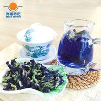 Wholesale organic China herb tea dried Butterfly pea flower herb tea Butterfly pea tea
