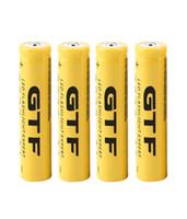 Wholesale Strong Led Battery - Rechargeable Battery 4pcs 3.7V 18650 9800mah Li LED Flashlight Torch SY Large Capacity Strong Light Flashlight Special Selling Authentic