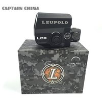 Wholesale Holographic Sight Leupold LCO Tactical Red Dot Sight Leupold Scope Hunting Scopes Reflex Sight With mm Rail Mount