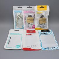 Cell phone accessories for car Baratos-8X12cm Bolso de empaquetado plástico del paquete al por menor de Ziplock para los accesorios del teléfono celular Auricular del cable del cargador del coche del adaptador de la energía del USB DHL shippin libre