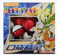 abs plastic boxes - Pokeball With Noctilucous Monster Box ABS Poke balls Action Anime Figures PokeBall Fairy Ball Super Ball Master Ball Kids Toys Gift