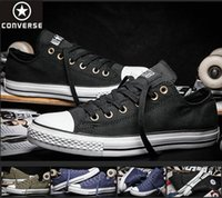 converse leather - 2016 Originals Shoes All Star Brand Men Women Running Platform Sneakers s Shoe Canvas Low High Top Casual Boots New Cheap